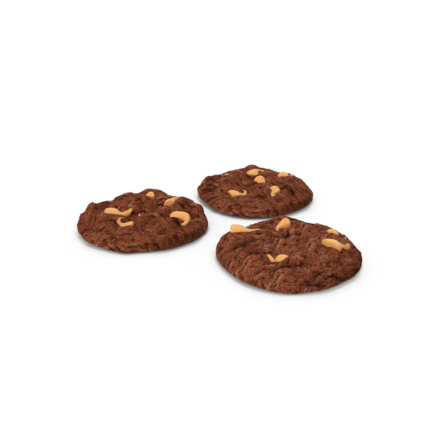 Cookie: Peanut Butter Chocolate Cookies PNG & PSD Images