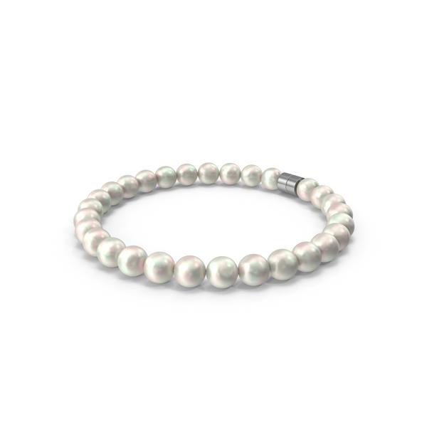 Pearls Bracelet PNG & PSD Images