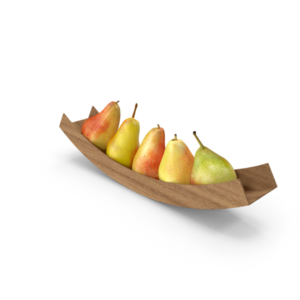 Pear: Pears Arc Bowl PNG & PSD Images