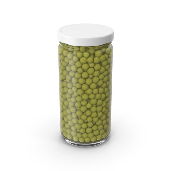 Peas Jar Green PNG & PSD Images