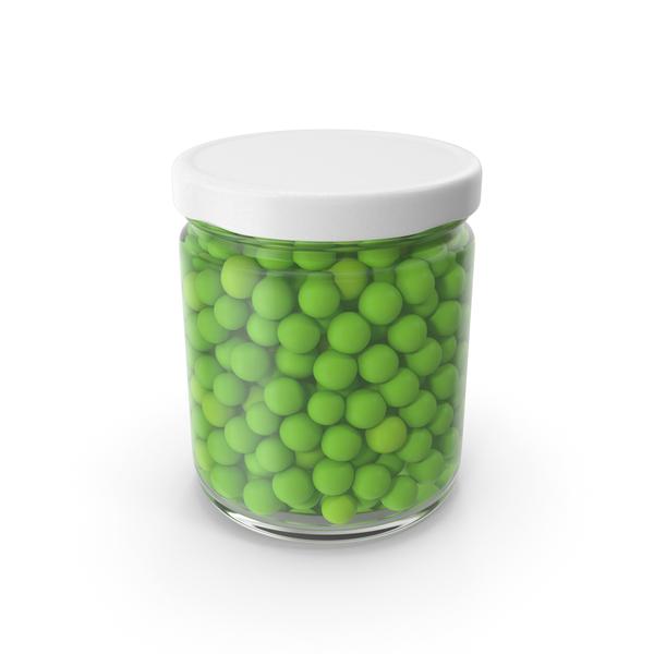 Peas Jar No Label PNG & PSD Images