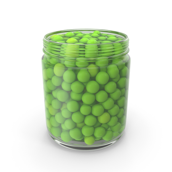 Peas Jar Opened PNG & PSD Images