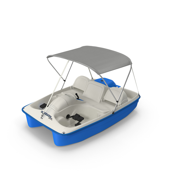 Pedal Boat with Canopy PNG & PSD Images