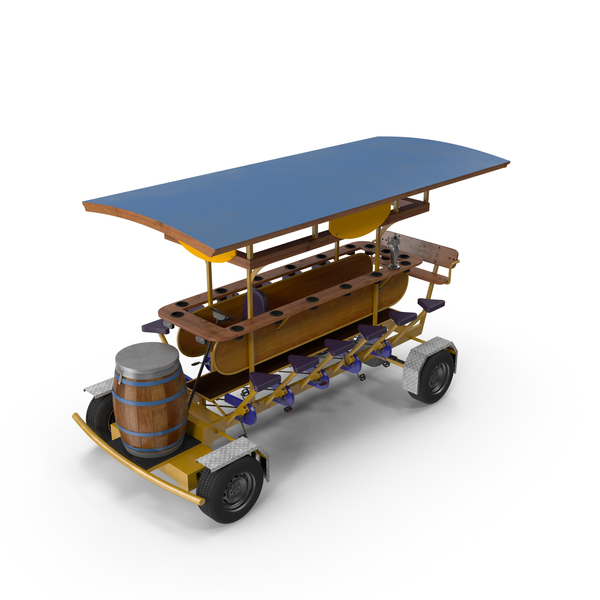 Pedaled Bar: Pedal Pub PNG & PSD Images
