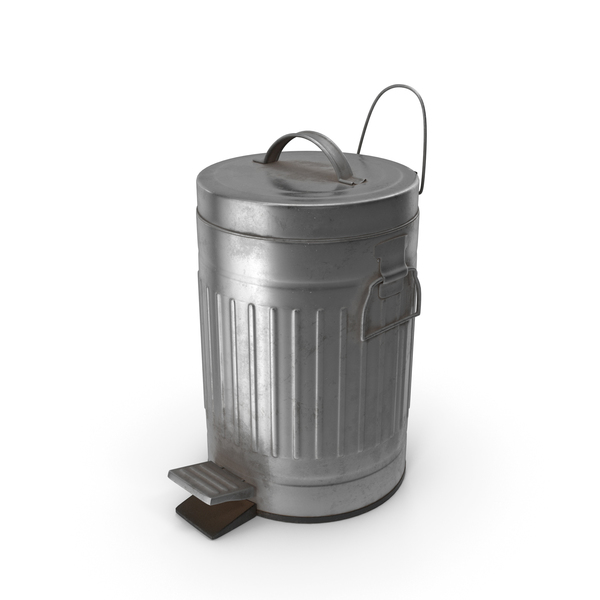 Pedal Trash Bin Dirty PNG & PSD Images