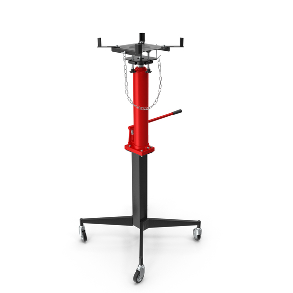Pedestal Transmission Jack Red PNG & PSD Images
