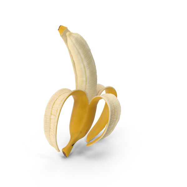 Peeled Banana Object