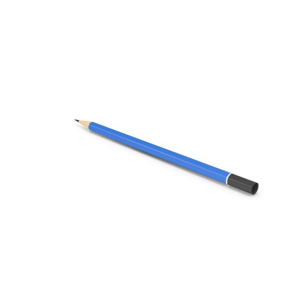 Pencil Blue PNG & PSD Images