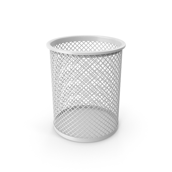 Pencil Cup White PNG & PSD Images