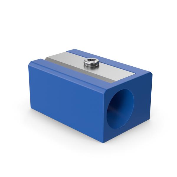 Pencil Sharpener Blue PNG & PSD Images