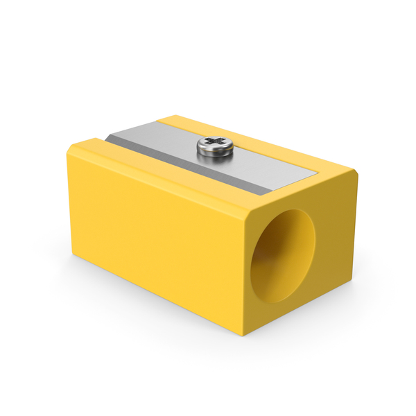 Pencil Sharpener Yellow PNG & PSD Images