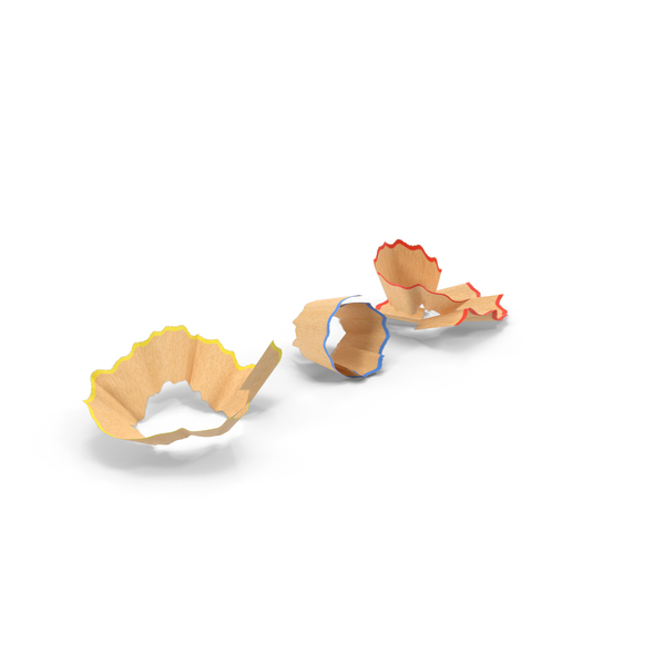 Pencil Shavings PNG & PSD Images