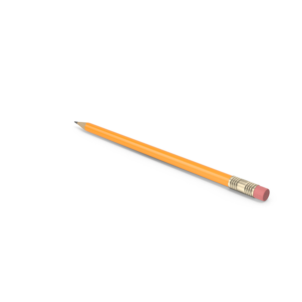 Pencil With Eraser PNG & PSD Images
