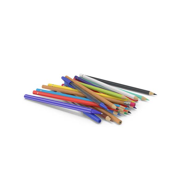 Pencils And Pens PNG & PSD Images
