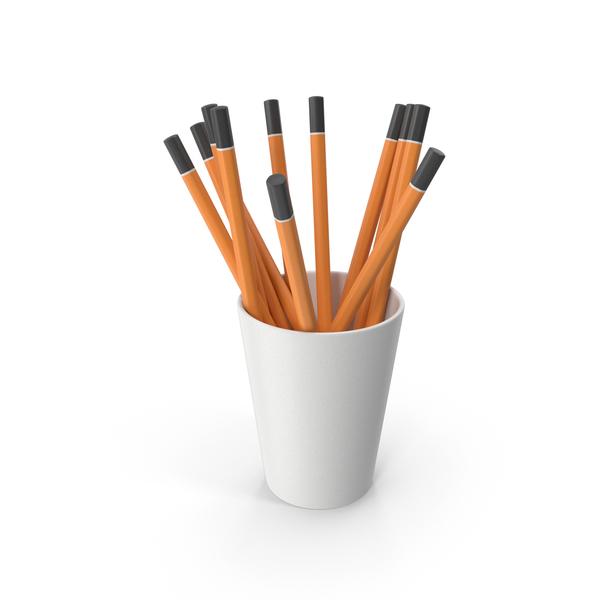 Pencil: Pencils Cup PNG & PSD Images