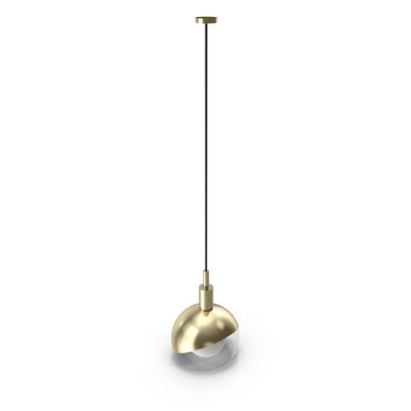 Pendant Lamp Half Closed Balls PNG & PSD Images