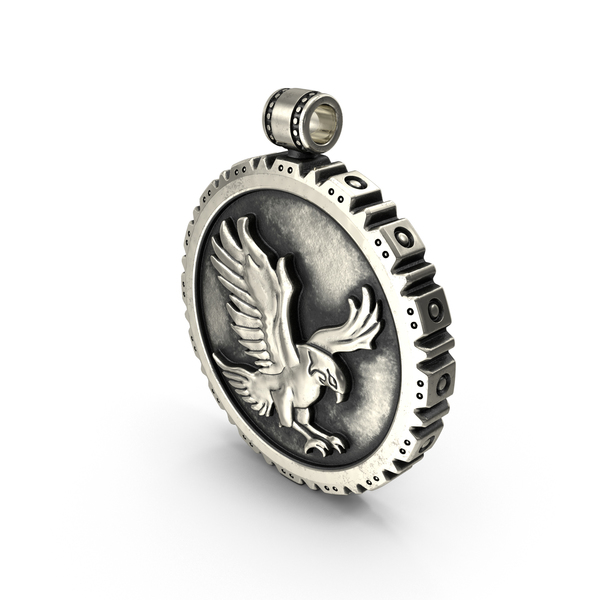 Pendant with Falcon PNG & PSD Images