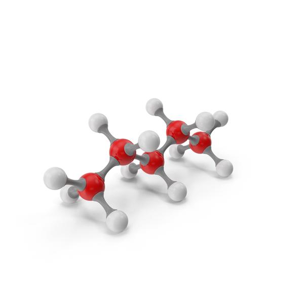 Pentane Molecular Model PNG & PSD Images