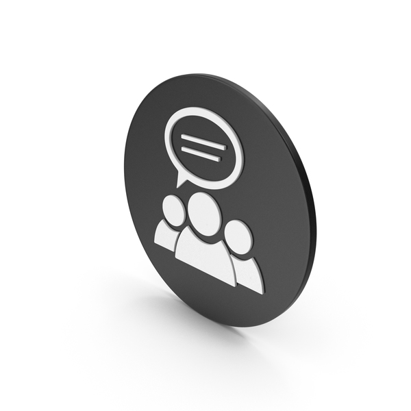 Logo: People Talking Icon PNG & PSD Images