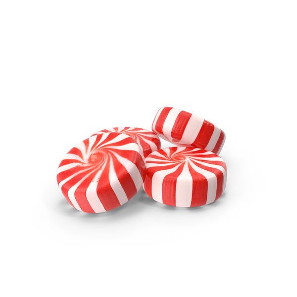 Candy: Peppermint Candies PNG & PSD Images