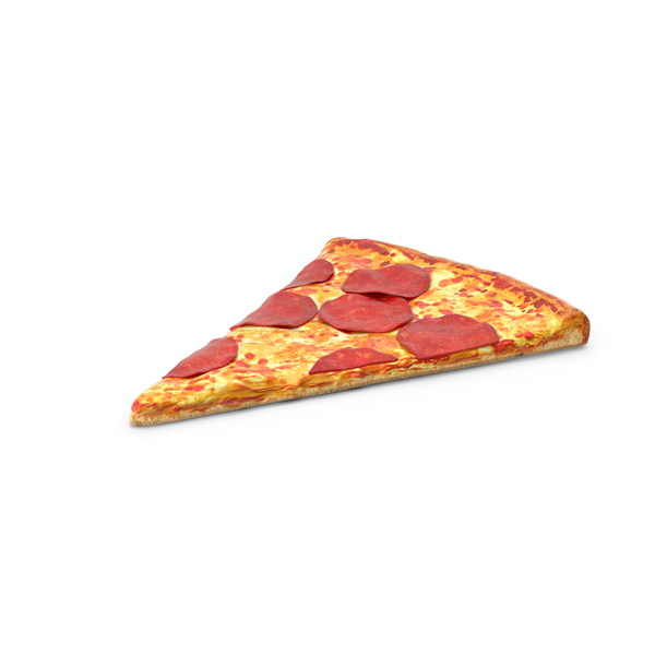 Pepperoni Pizza Slice Object