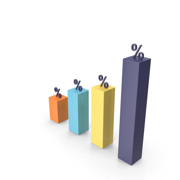 Bar: Percentage Graph PNG & PSD Images