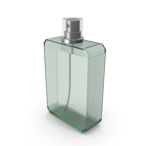 Perfume Bottle Green PNG & PSD Images