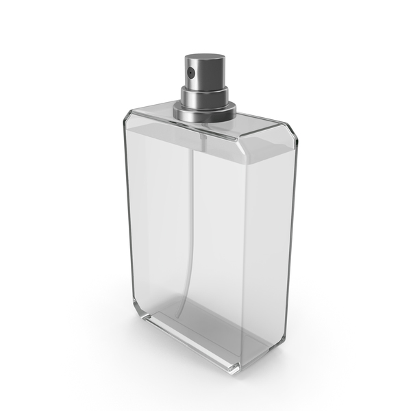 Perfume Bottle White Opened PNG & PSD Images