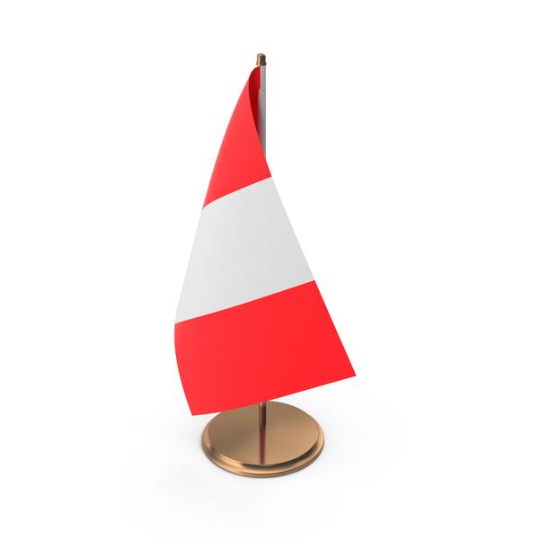 Peru Desk Flag PNG & PSD Images