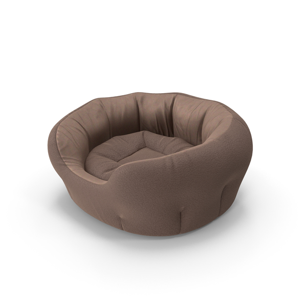 Pet Bed Brown PNG & PSD Images