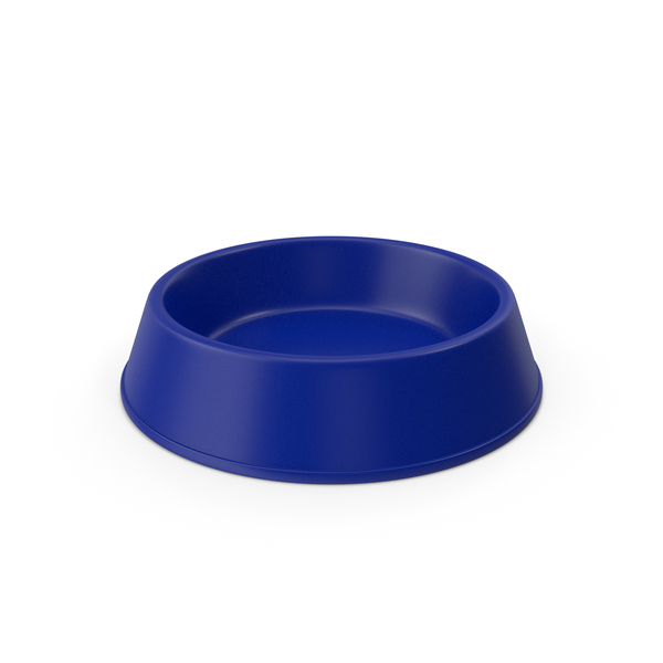 Pet Food Bowl Blue PNG & PSD Images