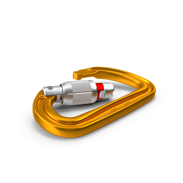 Petzl SMD Locking Carabiner PNG & PSD Images