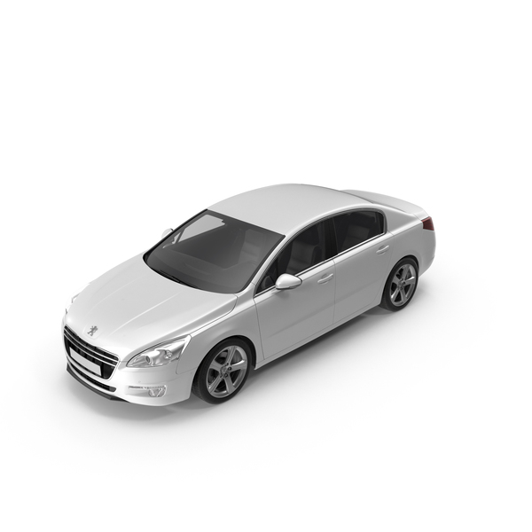 Peugeot 508 2013 White PNG & PSD Images