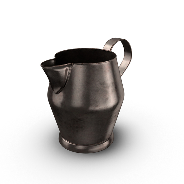 Pewter Pitcher Object