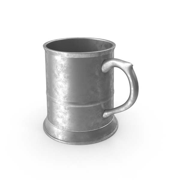 Beer Stein: Pewter Tankard PNG & PSD Images