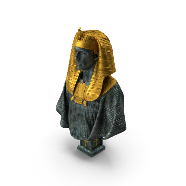 Pharaoh Bust PNG & PSD Images