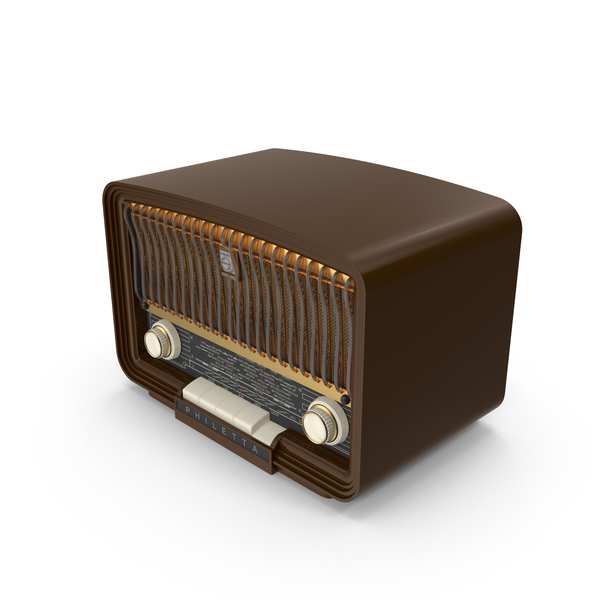 Philetta Vintage Radio Object