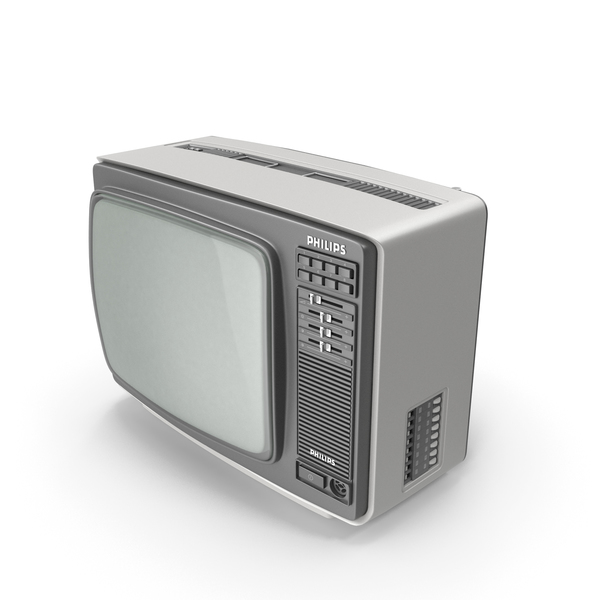 PHILIPS 14C825 Retro Color TV PNG & PSD Images