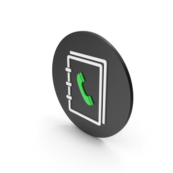 Logo: Phone Book Icon PNG & PSD Images