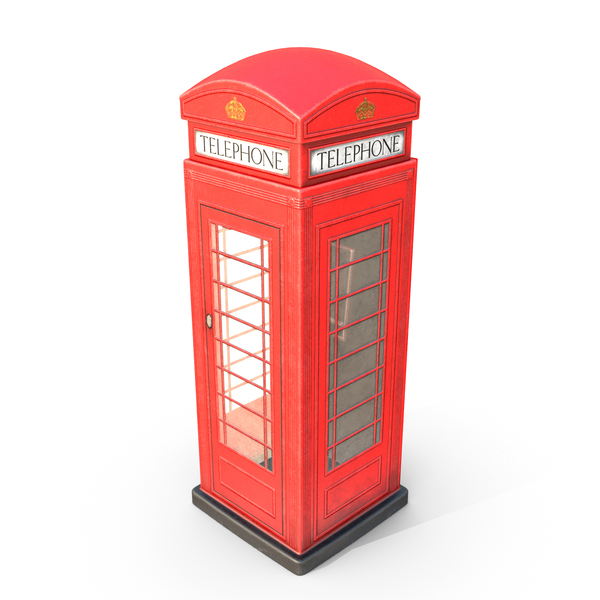 Booth: Phone Box PNG & PSD Images