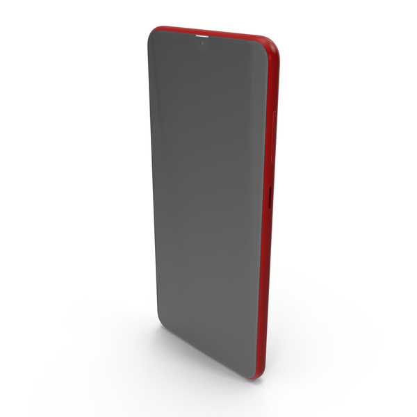 Phone Red front PNG & PSD Images