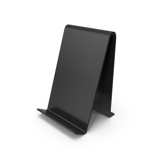 Cell Mount: Phone Stand Black PNG & PSD Images