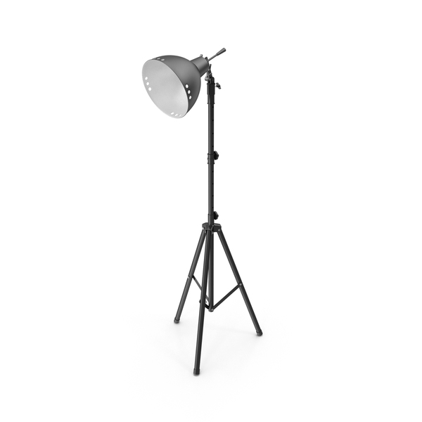 Photo Studio Halogen Floor Lamp PNG & PSD Images