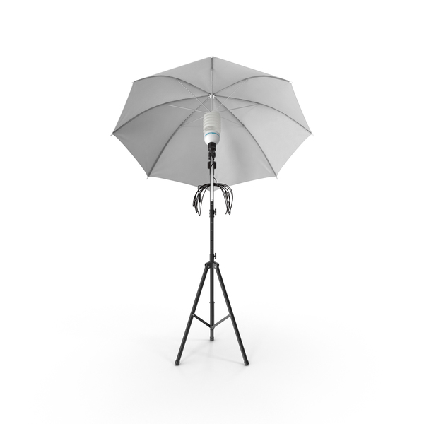 Photo Studio Lighting Umbrella Object