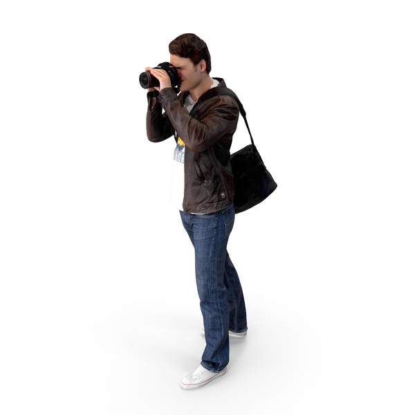 Photographer Posed PNG & PSD Images