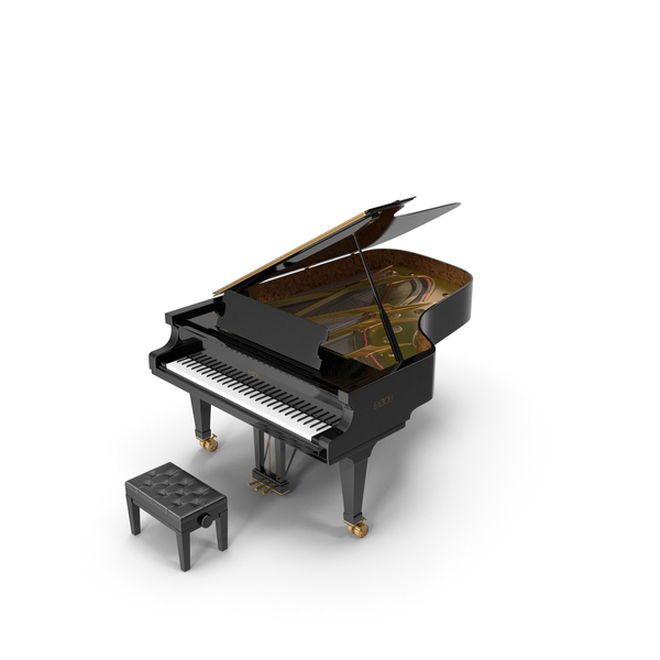Piano Fazioli F212 PNG & PSD Images