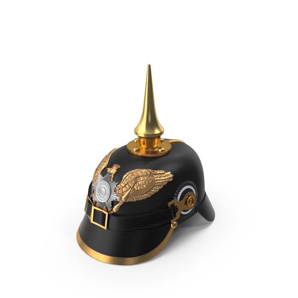 Pickelhaube Helmet Object