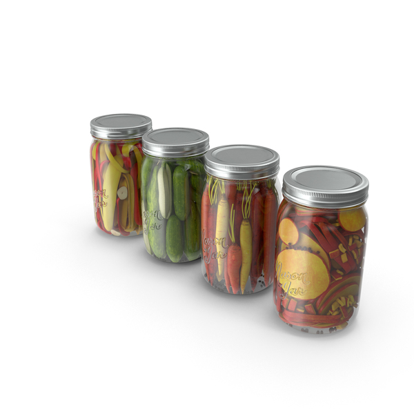 Pickle: Pickling Jars PNG & PSD Images