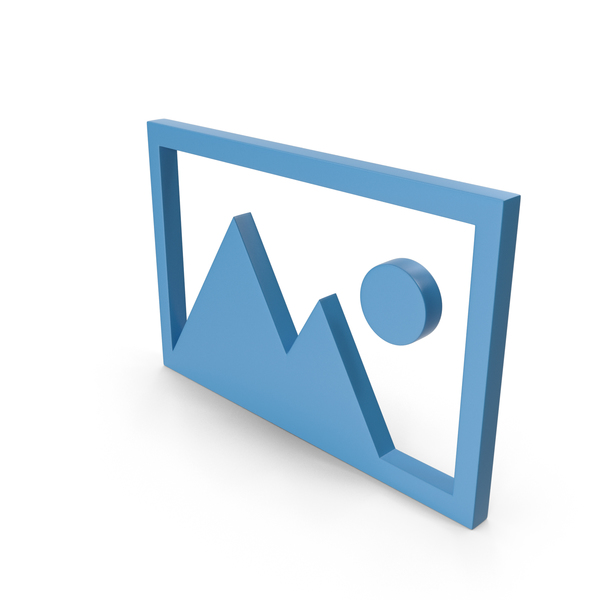 Logo: Picture Blue Icon PNG & PSD Images