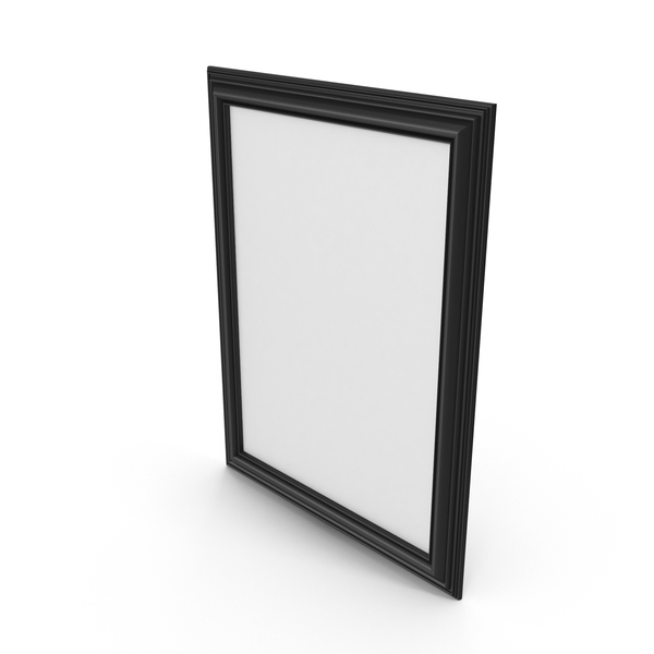 Picture Frame Black PNG & PSD Images